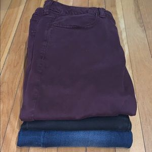 BUNDLE OF 3 American Eagle Jeggings Size 12